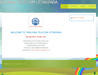 taramaatelecomuttarpara.webs.com screenshot