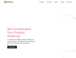 tarams.com screenshot