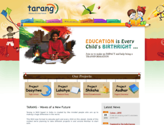 tarang.org screenshot