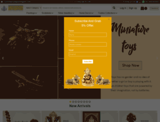 tarangarts.com screenshot