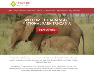 tarangiretanzania.com screenshot