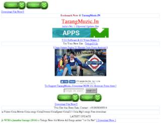 tarangmuzic.in screenshot