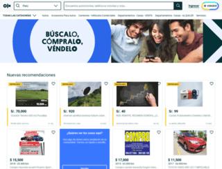 tarapoto.olx.com.pe screenshot