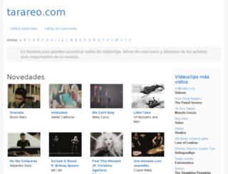 tarareo.com screenshot