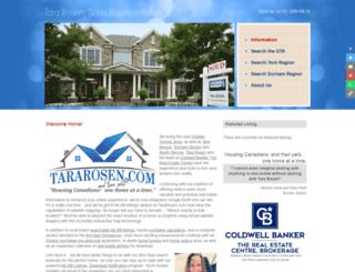 tararosen.com screenshot