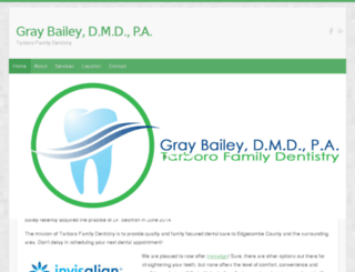 tarborofamilydentistry.com screenshot