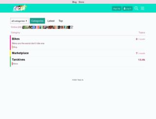 tarckbike.com screenshot