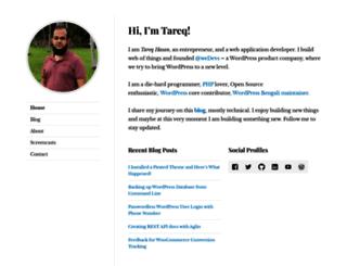 tareq.wedevs.com screenshot