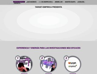 target-empirica.com screenshot