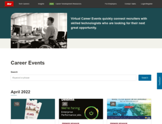 targetedjobfairs.com screenshot