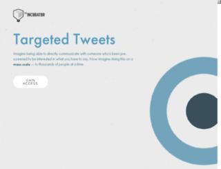 targetedtweets.com screenshot