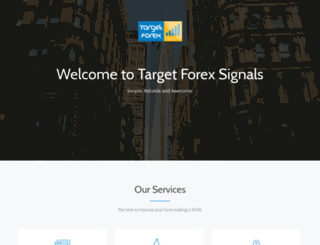 targetforexsignals.com screenshot