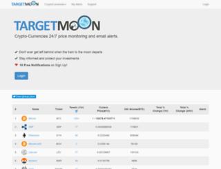 targetmoon.com screenshot