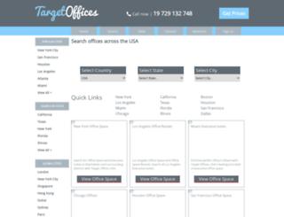 targetoffices.com screenshot