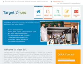 targetseo.com screenshot