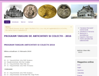 targulcolectionarilor.ro screenshot