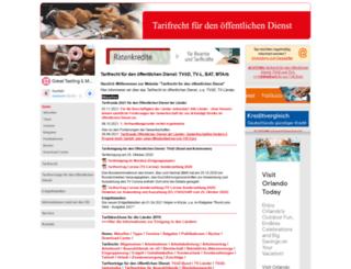 tarif-oed.de screenshot