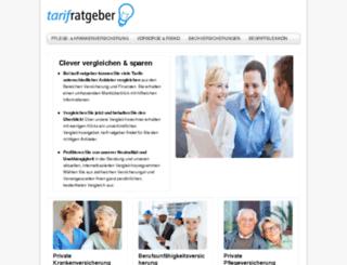 tarif-ratgeber.info screenshot
