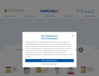 tarifchecks.de screenshot