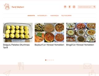 tarifdefteri.net screenshot