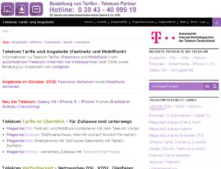 tarife-angebote.de screenshot