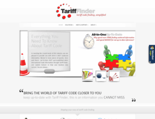 tarifffinder.com screenshot