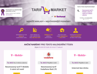 tarifmarket.cz screenshot