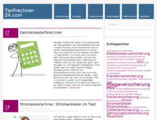 tarifrechner-24.com screenshot