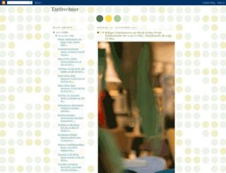 tarifrechner.blogspot.com screenshot