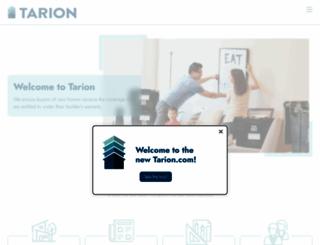 tarion.com screenshot