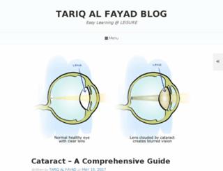 tariqalfayad.blogspot.com screenshot