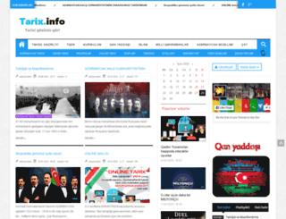 tarix.info screenshot
