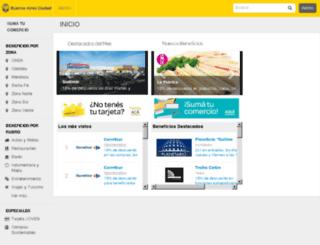 tarjetavos.gointegro.com screenshot