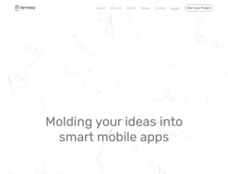 tarmeez.com screenshot