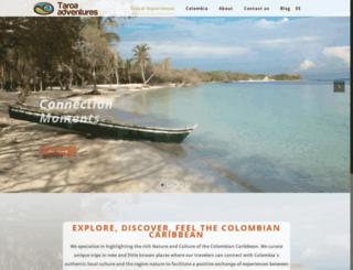taroaadventures.com screenshot