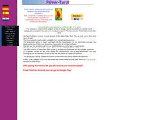 tarot-software.com screenshot
