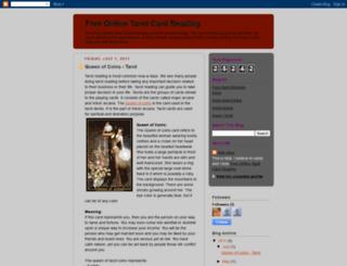 tarot-tarotreading.blogspot.com screenshot