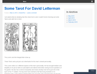 tarotconnections.wordpress.com screenshot