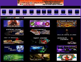 tarotdemarselha.com.br screenshot