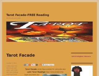 tarotfacade.org screenshot