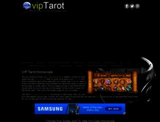tarothoroscope.viptarot.com screenshot