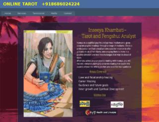 tarotinseeya.com screenshot