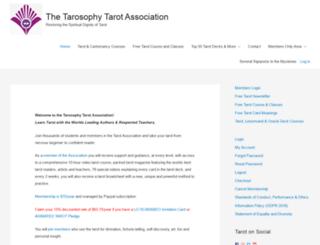 tarotprofessionals.com screenshot