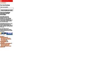 tarotreading.mobi screenshot