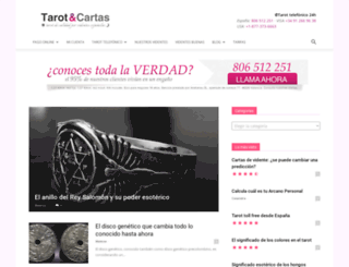 tarotycartas.com screenshot