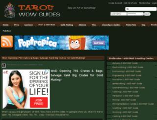 tarouwowguides.com screenshot