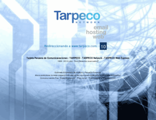 tarpeconetwork.com screenshot
