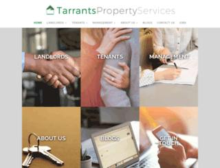 tarrantspropertyservices.co.uk screenshot