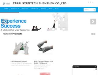 tarriesd.com screenshot