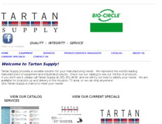 tartan-supply.com screenshot